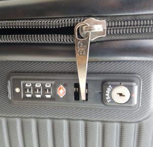 TSA-Schloss Reißverschluss Koffer