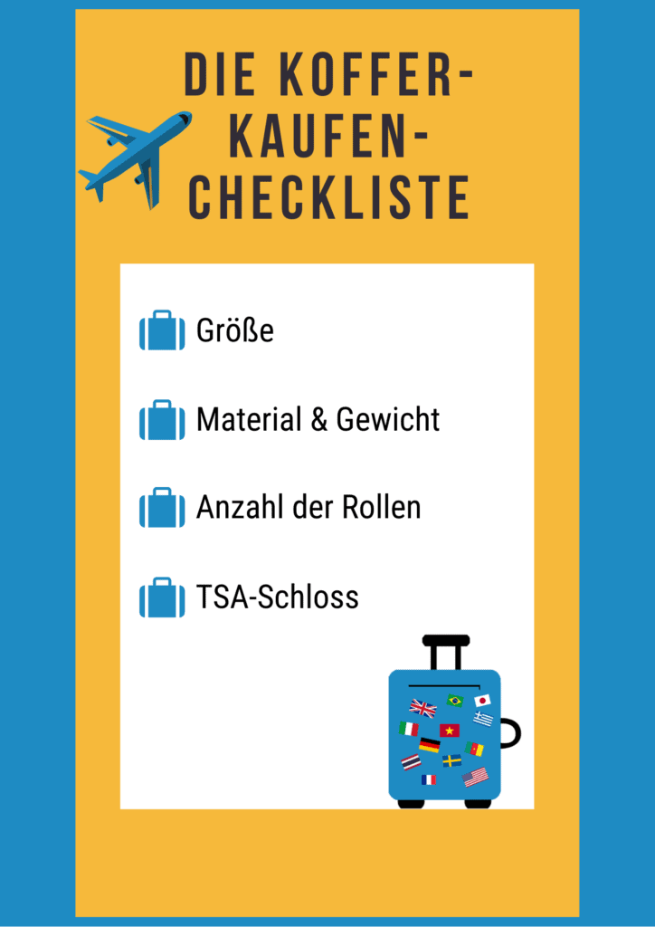 Worauf muss geachtet werden beim Koffer kaufen?